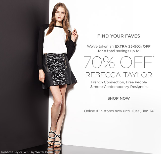 Up to 70% off Women's Contemporary Designers