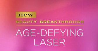new BEAUTY BREAKTHROUGH AGE-DEFYING LASER