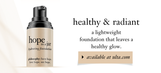 healthy & radiant a lightweight foundation that leaves a healthy glow.