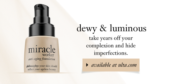 dewy & luminous take years off your complexion and hide imperfections.