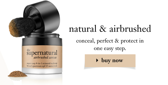 natural & airbrushed conceal, perfect & protect in one easy step.