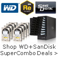 Shop WD+SanDisk SuperCombo Deals.