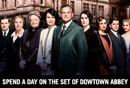 Spend a day on the set of Downton Abbey