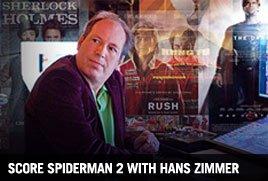 Score Spiderman 2 with Hans Zimmer