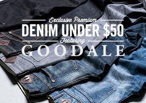 Shop Exclusive Goodale Denim Under $50