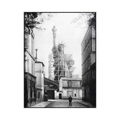 Statue of Liberty in Paris, 1886
