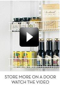 Store More on a Door - Video