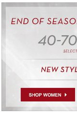 End of Season Sale Women