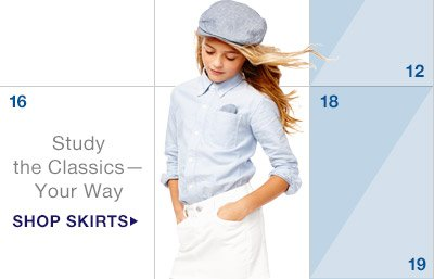 Study the Classics — Your Way | SHOP SKIRTS