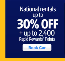 National Rentals up to 30% off