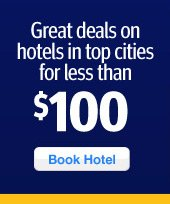 Great deals on great hotels under $100