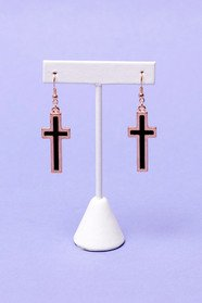 Cross Shadow Earrings 11