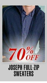 Joseph Full-Zip Sweaters - 70% Off*0