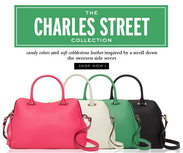 the charles street collection. shop now.