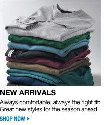 new arrivals - always comfortable, always the right fit: great new styles for the season ahead - click the link below