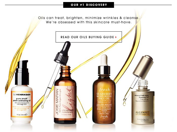 Our #1 Discovery Oils can treat, brighten, minimize wrinkles, & cleanse. We're obsessed with this skincare must-have. Read Our Oils Buying Guide