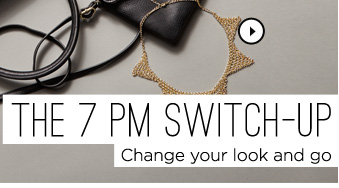 The 7pm Switch-Up. Shop Necklace
