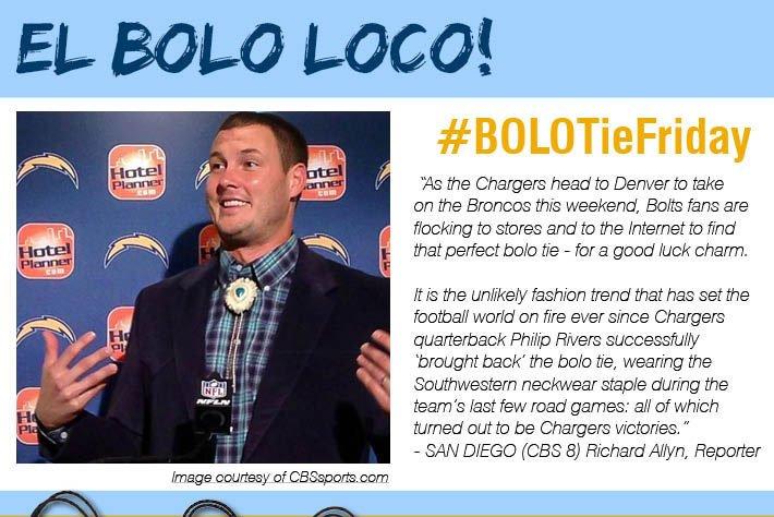 El Bolo Loco - #BOLOTieFriday
