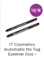 IT Cosmetics Automatic No Tug Eyeliner Duo