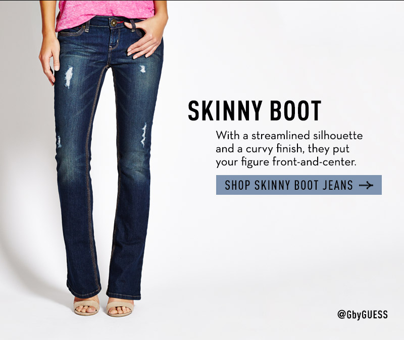 SHOP SKINNY BOOT JEANS