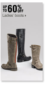 Up to 60% off Ladies' boots