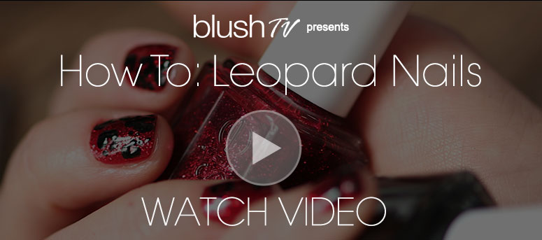 How-To Nails: Leopard Print Nail pro Destinee Handly gives us a tutorial in nail art! Watch Video>>