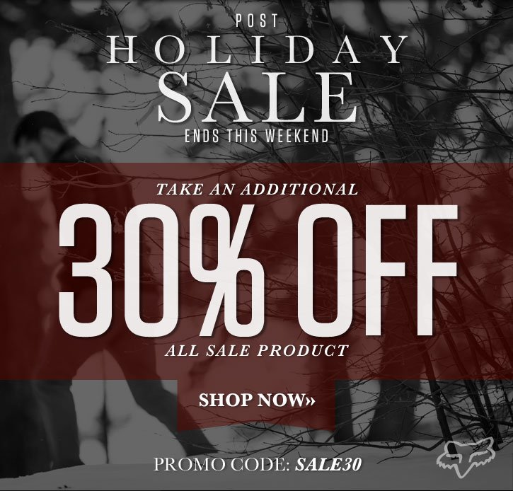 Post Holiday Sale | Additional 30% Off Sale Product