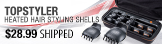 Newegg Flash - Topstyler Heated Hair Styling Shells.