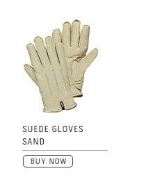 Suede Gloves Sand