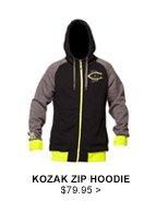 Kozak Zip Hoodie $79.95