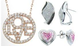 Diamonere Sterling Silver Jewelry