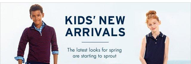KIDS' NEW ARRIVALS