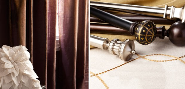 Warm Up Your Windows: With Curtains & Rods