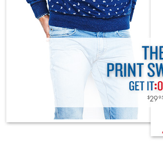 The Print Sweat $29.95