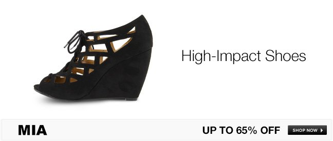 MIA High-Impact Shoes