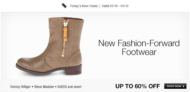 New Fashion-Forward Footwear
