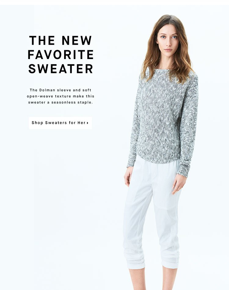 THE NEW FAVORITE SWEATER - Shop Sweaters for Her