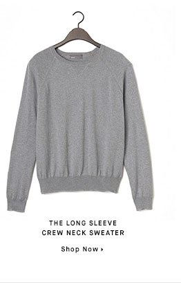 THE LONG SLEEVE CREW NECK SWEATER - Shop Now