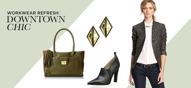 Workwear Refresh: Downtown Chic