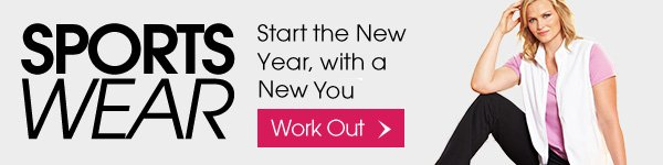 Sportswear - Star the New Year, with a New You