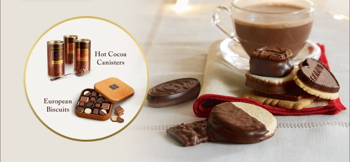 Hot Cocoa Canisters | European Biscuits