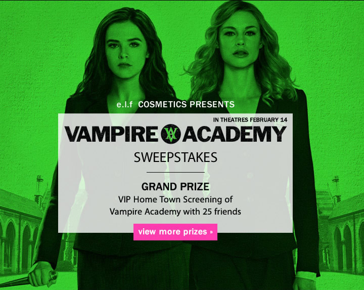 e.l.f. Cosmetics Presents: Vampire Academy Sweepstakes