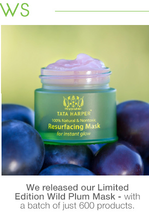 We launched our Wild Plum Mask!