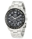 Invicta 10701 Men's Speedway Stainless Steel Black Dial Chronograph Dive Watch