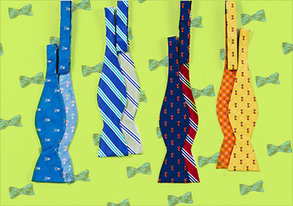 Shop 2 Looks in 1: Reversible Bowties