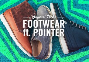 Shop Buyers' Picks: Footwear ft. Pointer