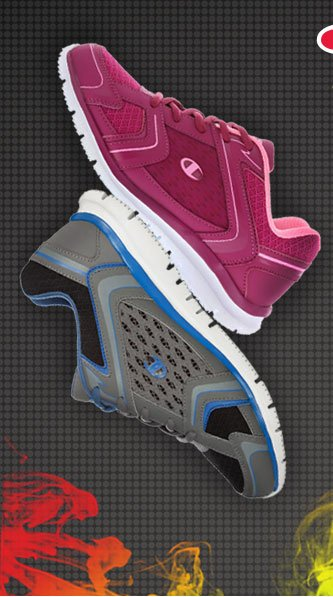 Shop select women's and men's Champion Lattice Runners - was $34.99, now $11.99!
