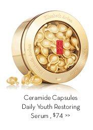 Ceramide Capsules Daily Youth Restoring Serum, $74.