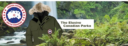 the elusive canadian Parka
