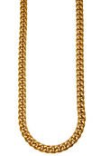 The Veritas Cuban Necklace in Gold